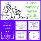 1 John Memory Verse Cards