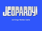 1 Kings Jeopardy Review Game