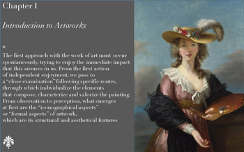 1 Learning all about Artworks - Chapter I - The first approach to Artworks