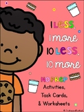 1 Less 1 More 10 Less 10 More Activities
