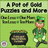 1 Less 1 More 10 Less 10 More Puzzles 0-120 Gold