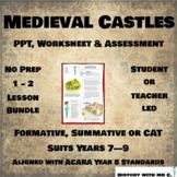 Medieval Castles - 1 - 2 Lesson Bundle - Medieval Europe