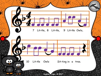 1 Little, 2 Little, 3 Little Owls: A Counting Song/Activity - PDF Ed.