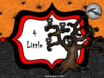 1 Little, 2 Little, 3 Little Owls: A Counting Song/Activity - PPT Ed.