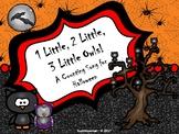 1 Little, 2 Little, 3 Little Owls: A Counting Song/Activit