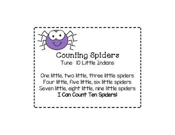 1 Little, 2 Little, 3 Little Spiders