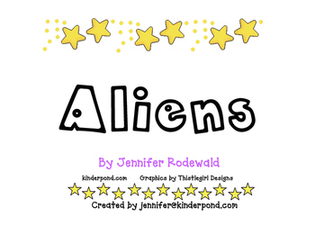 1 Little 2 Little Aliens Song classbook