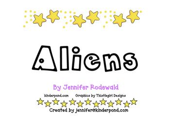 1 Little 2 Little Aliens Song classbook