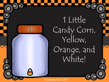 1 Little, 2 Little....Candy Corns: A Counting Song/Activity - PDF Ed.