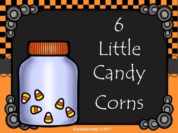 1 Little, 2 Little....Candy Corns: A Counting Song/Activity - PPT Ed.