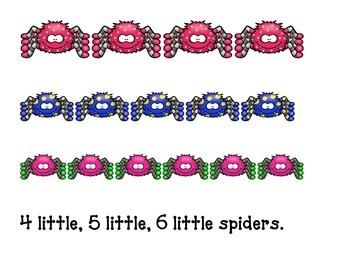 1 Little 2 Little Spiders book