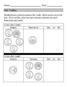 1.MD.8 - Comparing Amounts of Pennies, Nickels, and Dimes
