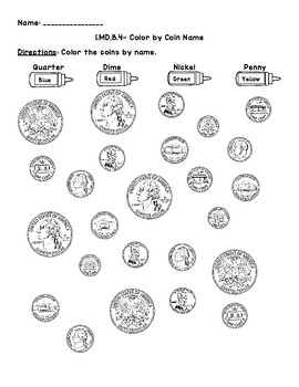 1.MD.B.4- Name Coins