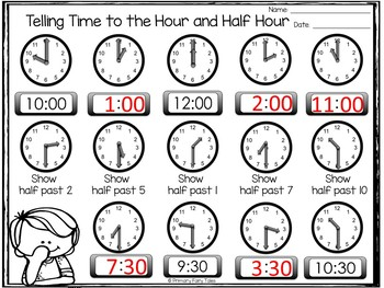MD.B3 Telling and Writing Time