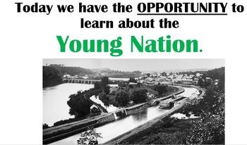 Manifest Destiny, Young Nation and Northwest Ordinance BUNDLE - pt. 1