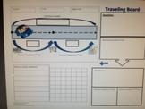 #1 Math Traveling Word Problem Board - Graphic Organizer