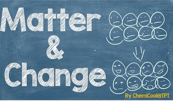 Matter and Change PowerPoint Presentation