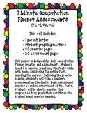 1 Minute Computation Fluency Assessments Vol. 1 (+1, -1, +2, -2)