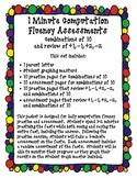 1 Minute Computation Fluency Assessments Vol. 2 (Combinati