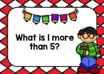 1 More, 1 Less, 10 More, 10 Less BOOM Cards Set 1 {Digital Task Cards}