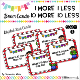 1 More, 1 Less, 10 More, 10 Less - Set 1 {BOOM Cards}