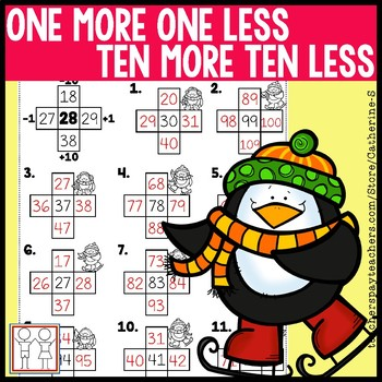 1 More 1 Less 10 More 10 Less Worksheets