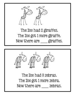 A Mini Math Book - Add 1 More