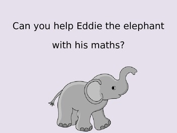 1 More And 1 Less Power Point - EYFS - Simple Addition - Elephant
