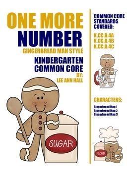 1 More Gingerbread Man Math
