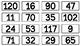 1.NBT.1, 1.NBT.4, & 1.NBT.5 - Base Ten Bingo
