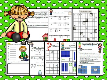 1.NBT.1 Math Mega Bundle:  Common Core Aligned