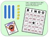 1.NBT.2  Base Ten Bingo