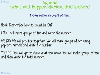 1.NBT.2 Thinking of Groups of Tens as Bundled Ones