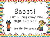 1.NBT.3 Scoot!!! Comparing Double Digit Numbers
