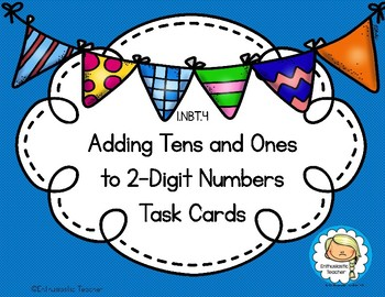 1.NBT.4 Adding Tens and Ones to 2-Digit Numbers