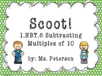 1.NBT.6 SCOOT!!! Subtracting Multiples of 10