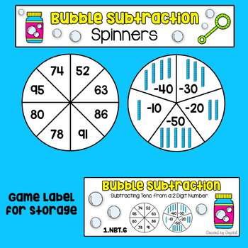 1.NBT.6 Subtracting Tens from a 2 Digit Number