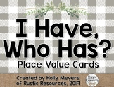 I Have, Who Has?: Place Value (Tens and Ones)