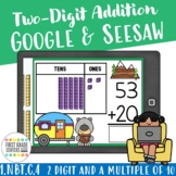 1.NBT.C.4 Add a Two-digit Number and a Multiple of Ten Google Classroom Seesaw