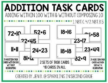 1.NBT.C.4 Addition Within 100