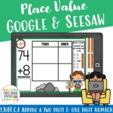 1.NBT.C.4 Add a Two-digit and One-digit Number Google Seesaw Distance Learning