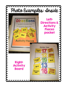 1.NBT Independent Math Stations: 1.NBT.1-6 File Folder Activities