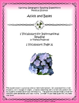 1 NGRE Acids and Bases - Vocabulary, p31