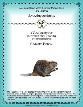 1 NGRE Amazing Animals - Vocabulary, p31
