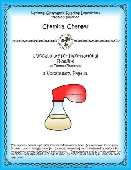 1 NGRE Chemical Changes - Vocabulary, p31