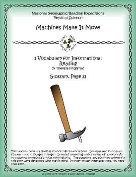 1 NGRE Machines Make It Move - Vocabulary, p31