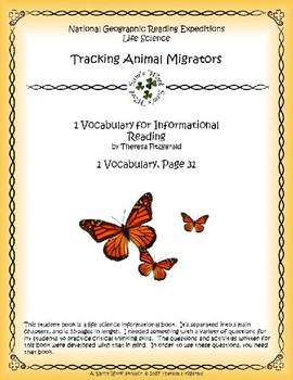 1 NGRE Tracking Animal Migrators - Vocabulary, p31