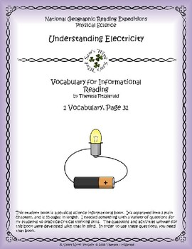 1 NGRE Understanding Electricity - Vocabulary, p31