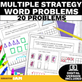 1.OA.1 Addition & Subtraction Word Problems Multiple Strategies
