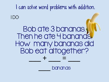 1.OA.A.1 Solving Word Problems (Addition and Subtraction)